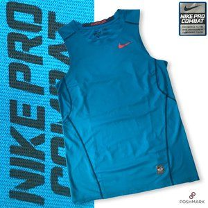 Men's Nike Combat Pro Hypercool Fitted Tank Top